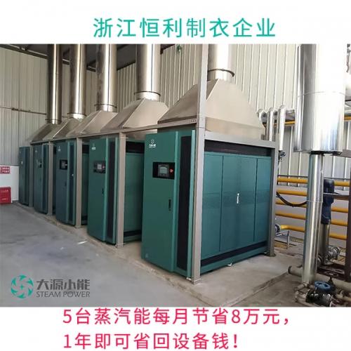 蒸汽能在制衣厂立竿见影的节能方案